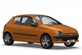 Peugeot 206 3 Door Hatchback (1998-2003)