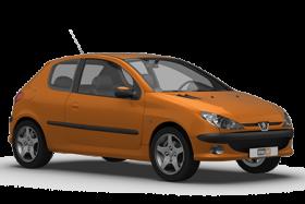 Peugeot 206 3 Door Hatchback (1998-2003)