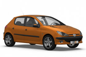 Peugeot 206 5 Door Hatchback (1998-2003)
