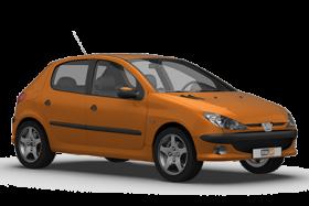 Peugeot 206 5 Door Hatchback (1998-2003)