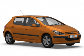 Peugeot 307 5 Door Hatchback (2001-2005)