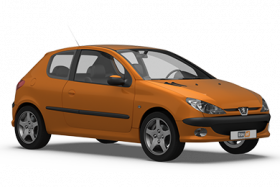 Peugeot 206 3 Door Hatchback (2003-2010)