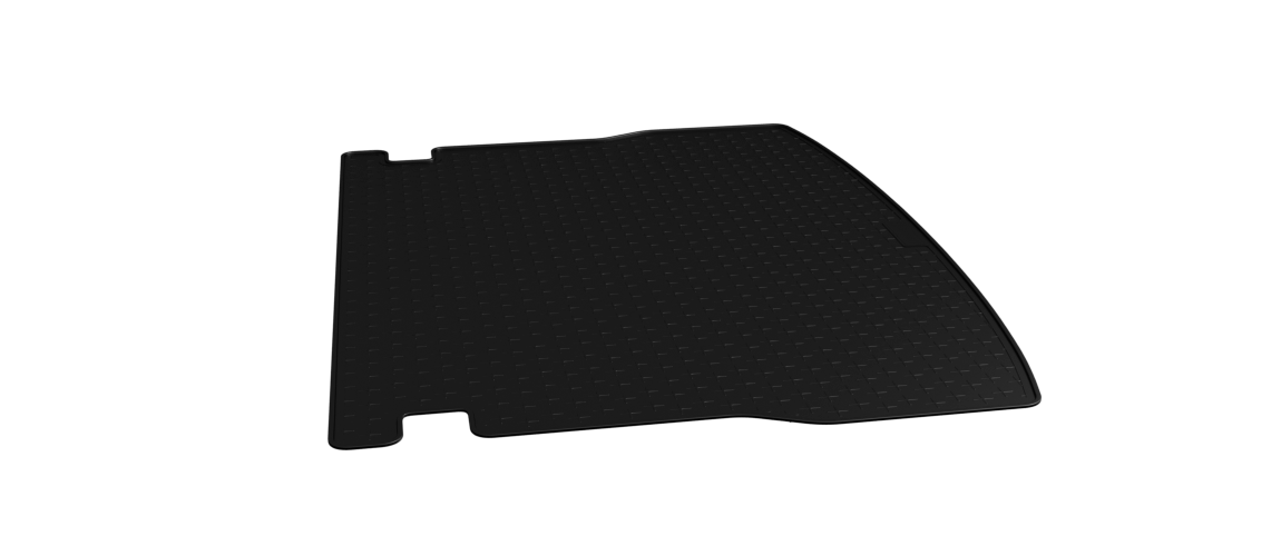 Vehicle-Specific Black Rubber Boot Mat Liner Travall Liner TBM1160